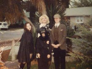 Vampire, monkey, Marilyn Monroe & Sherlock Holmes (me).