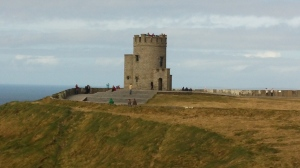 O'Brien's Tower, to my right as I face the Atlantic Ocean.