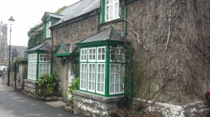 Exterior of the vicar's house as seen in The Quiet Man.