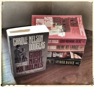 The Irene Adler series, by Carole Nelson Douglas.