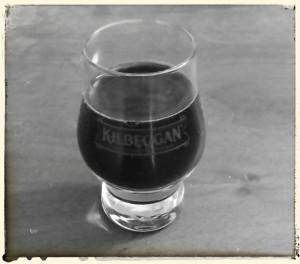A Kilbeggan shot glass.