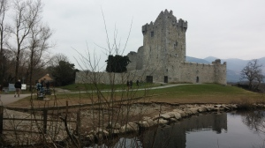 Ross Castle, Killarney, Ireland.